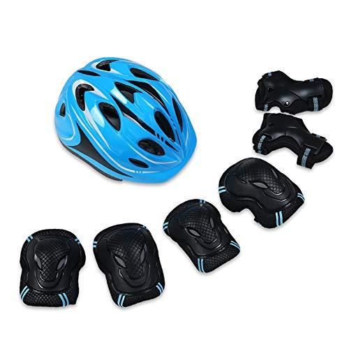 BCBIG - Juego de equipo de protección para monopatín (casco, rodilleras y...