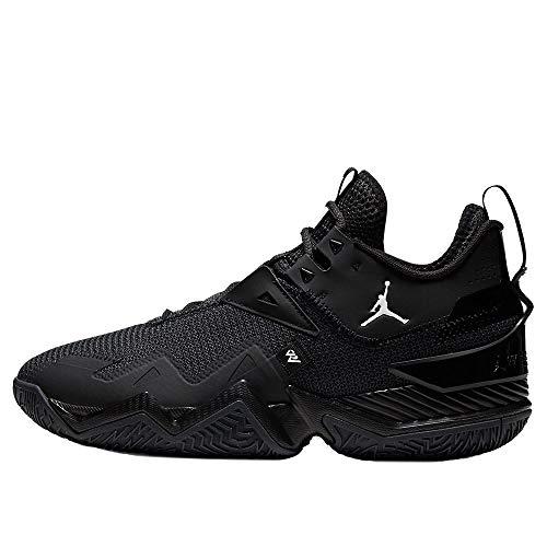 Nike Jordan Westbrook One Take, Scarpe da Basket. Uomo, Black White Anthracite, 46 EU