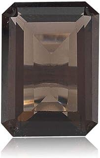 Instagem 0.22-0.26 Cts of 5x3 mm AAA Emerald Cut Smoky Quartz (1 pcs) Loose Gemstones