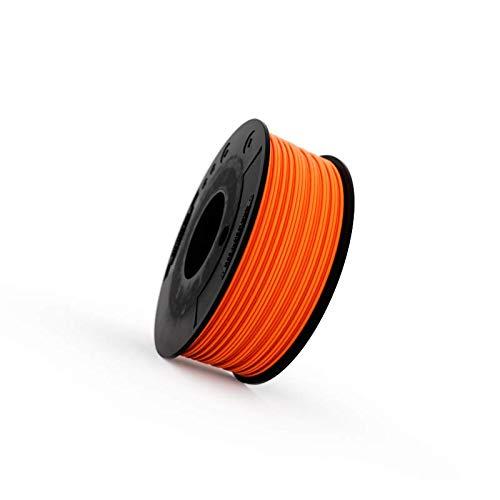 Filamento Elastico FILAFLEX 82A ORIGINAL con 82A de dureza shore el filamento estrella más vendido de la gama Filaflex y el flexible más popular para impresoras 3D (1.75 mm 250 gr, Naranja)