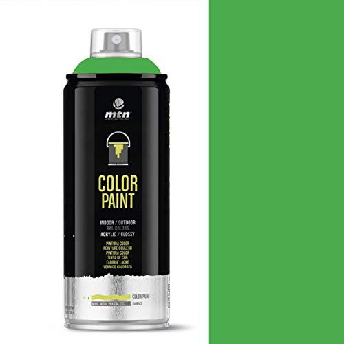 MTN PRO Color Paint – RAL-6018 Pintura en aerosol verde amarillo – 400 ml