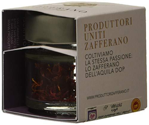 Produttori Uniti Zafferano Zafferano dell'Aquila Dop in Barattolo - 0,3g
