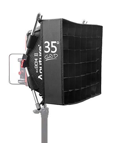 Aputure EZ Box+ II Diffuser Softbox with Grid Kit for Amaran HR672 AL-528 TRi8 LED Video Light