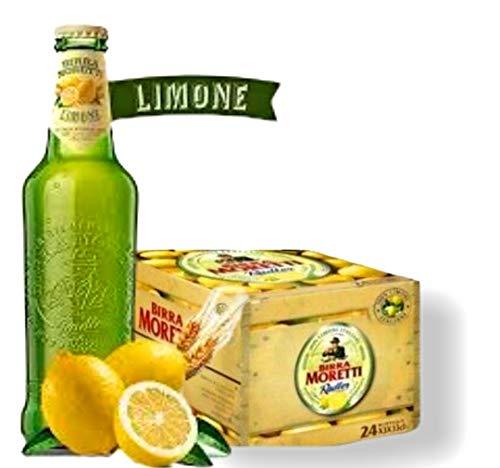 BIRRA MORETTI Sommer Radler Zitrone CL.33 X 12 Flaschen Bier 2% Alk. Cerveza