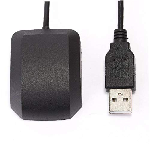 NaiCasy Receptor GPS USB Navegación módulo de Antena VK-162 10 HZ para PC portátil de Coches Sistemas de Seguridad Marinos