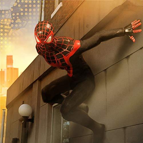 Leileixiao MEZCO Ant - Figura de muñeca de segunda generación, diseño de Spiderman