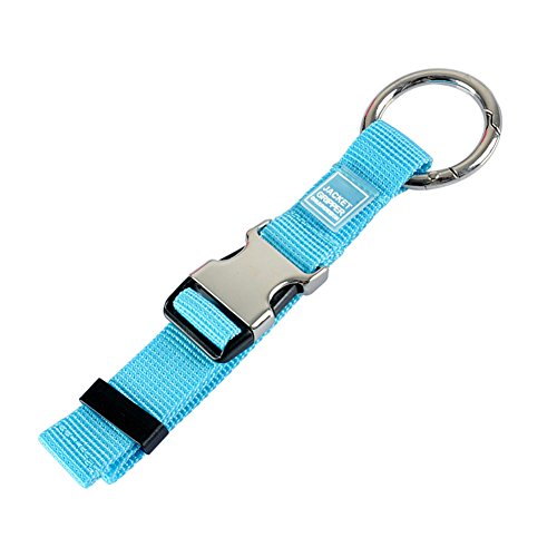 Add-A-Bag Luggage Strap Jacket Gripper, Luggage Straps Baggage Suitcase Belts Travel Accessories - Make Your Hands Free, Easy to Carry Your Extra Bags, Blue