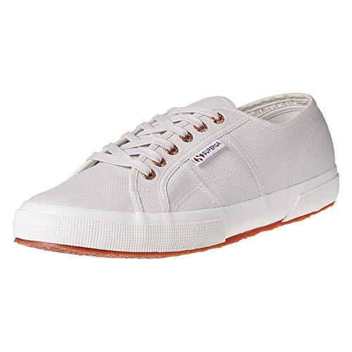Superga Unisex 2750 Cotu Classic Sneaker, Gris (Lt Grey/Rose Gold F00), 37 EU