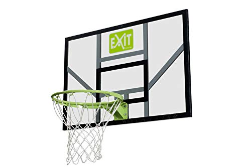 EXIT Galaxy Basketballbrett mit Ring und Netz - grün/schwarz