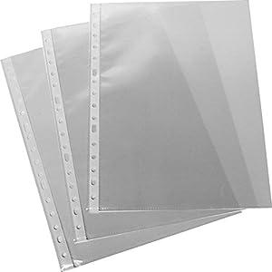Grafoplas 5577700 – Fundas con taladros en polipropileno xs embolsadas, A4, color transparente