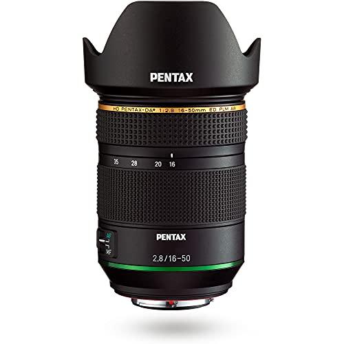HD Pentax DA 16-50mm F2,8ED PLM AW Standard-Zoomobjektiv mit großer Blende für die Verwendung mit digitalen Spiegelreflexkameras mit K-Mount-APS-C-Format, 28030