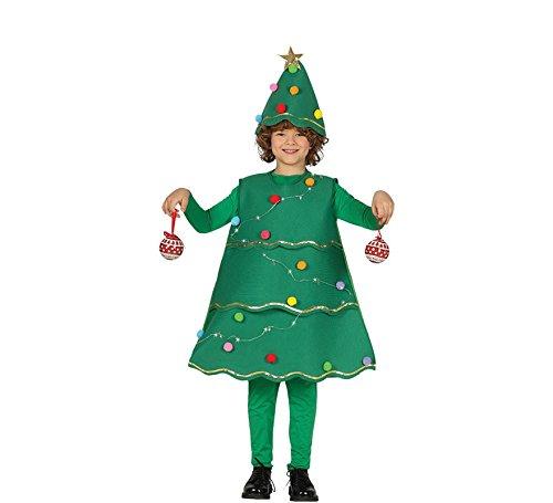 Guirca Disfraz de Árbol de Navidad con Led para Niños