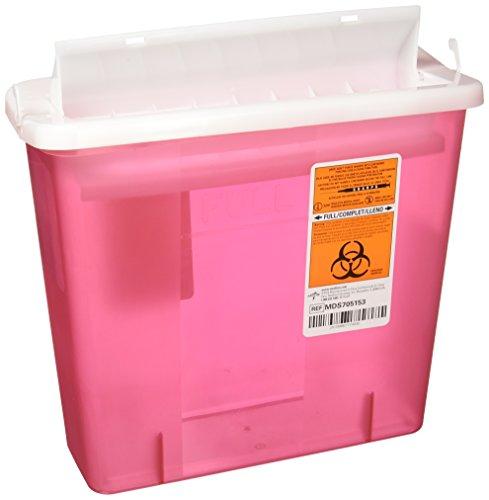 buy  Medline MDS705153 Sharps Container, 5 Quart, ... Diabetes Care