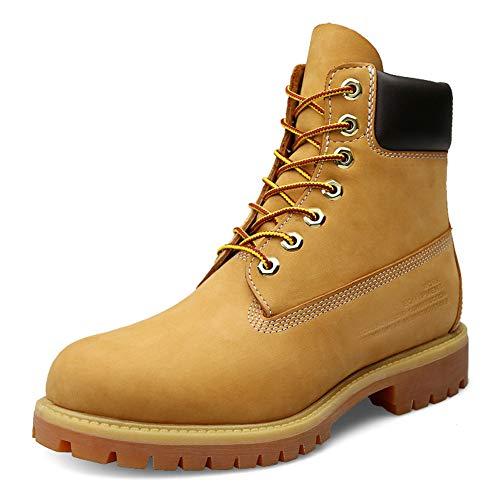 Xue Heren Sneakers/Sneeuwlaarzen/Mountaineer Schoenen Rubber Ski/Snowboard/Wandelen Waterdicht, Anti-Slip, High-Top Sneakers,Martin Style,Tooling Laarzen