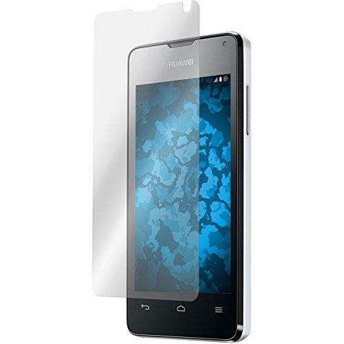 PhoneNatic 2er-Pack Displayschutzfolien klar kompatibel mit Huawei Ascend Y300