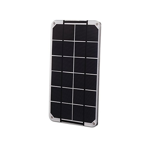 Voltaic Systems - Mini Solar Panel 3.5W / 6V - Silver | Panel Made with High Performance Monocrystalline Cells | Waterproof, UV and Scratch-Resistant ...