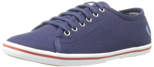 Fred Perry , Sneaker Donna, multicolore (Blu carbonio), 36