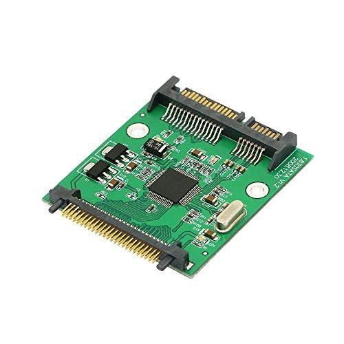CERRXIAN SATA 22 pines (7+15) a 50 pines 1.8 pulgadas IDE disco duro SSD adaptador para sistemas DOS, NT4, WINDOWS98SE, ME, 2000, XP, VISTA, MAC, Linux