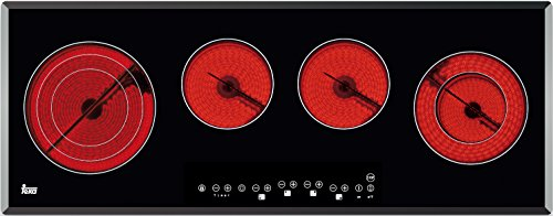 Teka 10210003 Kochfeld Elektro / Glaskeramik / 90 cm / Stop-and-Go-Taste / Facette