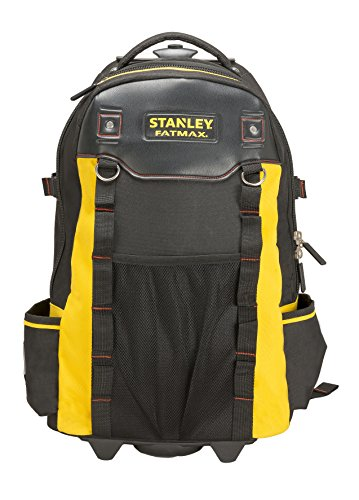 Stanley FatMax Werkzeugrucksack (60 x 38 x 24 cm, wasserdichter Kunststoffboden, atmungsaktive...