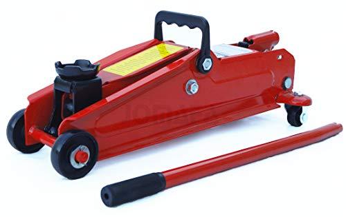 JOMAFA - Gato hidraulico de carretilla 3 toneladas para levantar vehiculos, rojo
