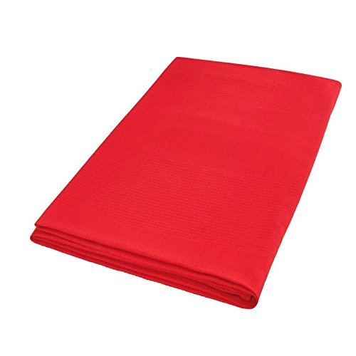 Moderno® Tagesdecke Ripp Optik in Rot 150x250 cm, aus 100prozent Baumwolle/Plaid/Überwurf/Sofaüberwurf/Kuscheldecke/Wohndecke/Bettüberwurf/Sofadecke