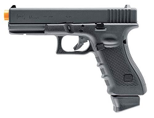 "Umarex USA, Glock Air Pistols, Model 17 Gen 4, 6mm, 3 3/4"" Barrel, Fixed Sights, Black"