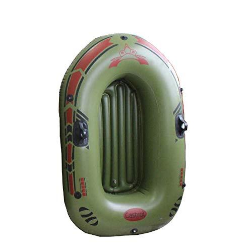 IDE Play Schwerlast 180kg Schlauchboot Boot Schlauchboot Angeln Set 3 Boot Set - One - DREI Mann Schlauchboot mit Rudern und Pumpe,150 * 80