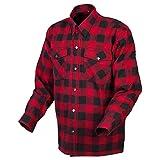 ScorpionEXO Covert Moto Flannel (Red/Black - Large)
