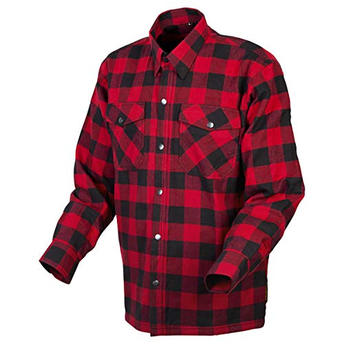 ScorpionEXO Covert Moto Flannel (Red/Black - X-Large)