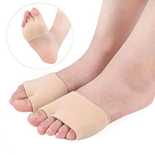Redcoloré 1 paire de pouce Valgus Coussin de soulagement d'orteil Correcteur Pad Protecteur de Manchon de soin des pieds Outil