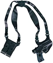 Gould & Goodrich B804-G17LH Gold Line Shoulder Holster - Left Hand (Black) Fits GLOCK 17, 19, 22, 23, 31, 32, 34, 35, 39
