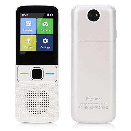 Aufee Pocket Translator, Smart WiFi/Offline Bi-Directional Real-Time Translator Android 7.0 Photo Translation Voice Translate Text
