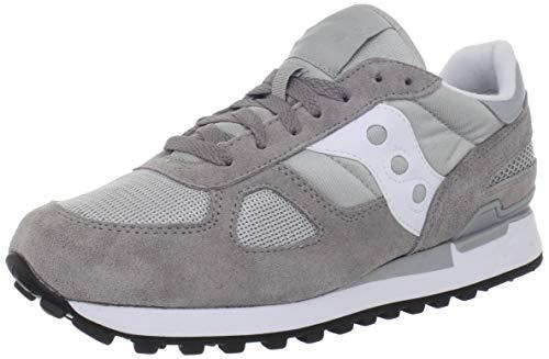 Saucony Shadow Original, Sneaker Uomo, Grigio (Grey/White), 43 EU