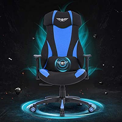 Acethrone Gaming Racing Office Chair with Mesh,Ergonomic Adjustable Swivel Chair Recliner with Lumbar Pillow and Headrest, Mobility Height and Reclining Device High Back Chair for Adults