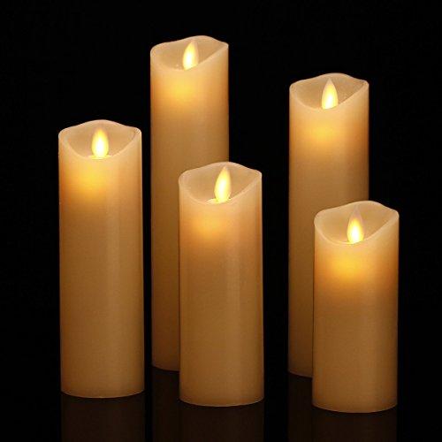 LED Kerzen im 5er Set - 2
