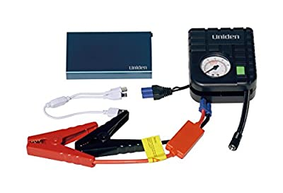Uniden Auto Emergency Power Pack with Jump Starter and Air Pump