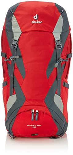 Deuter Futura Pro 42 Backpack - Fire/Granite