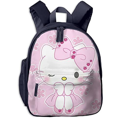 Hello Kitty - Mochila de belleza para niñas, mochila grande para viajes escolares, mochilas para niños pequeños