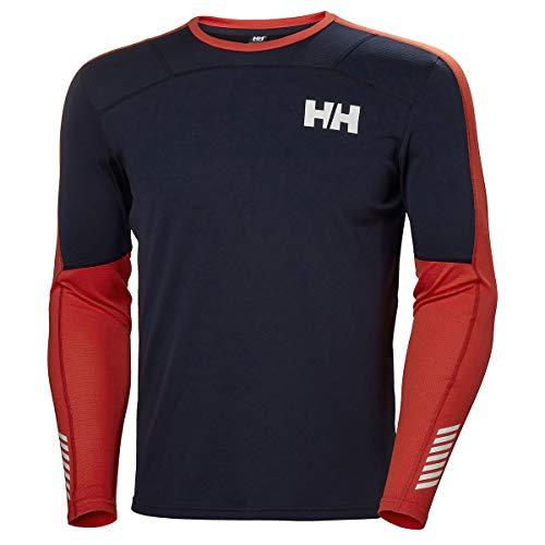 Helly Hansen HH LIFA Active Crew Camiseta, Azul (Azul Navy 597), XXL para Hombre