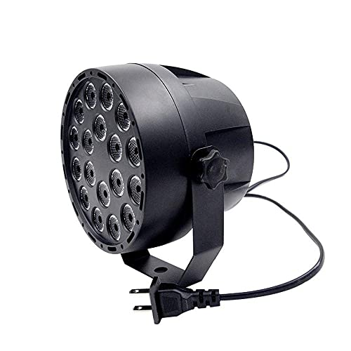 Luces LED Par Luces LED para Escenario 18W 18LEDs RGB DMX512 Iluminación...