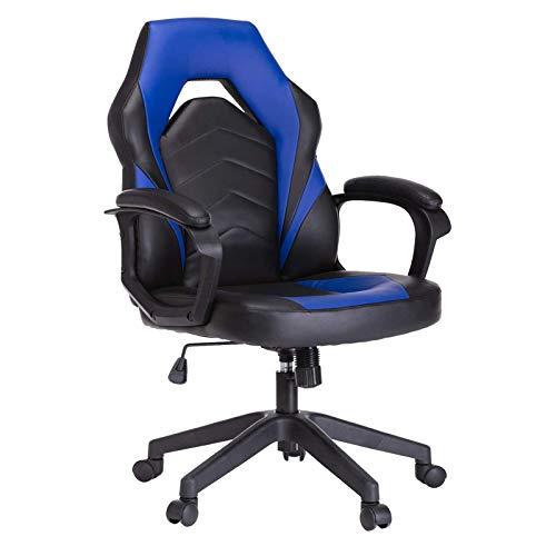Nylon feet Juegos de deportes electrónicos, silla de oficina de computadora + silla giratoria de computadora, silla ergonómica de oficina + reposabrazos, giratorio, ascensor, hogar, blanco Debuggable