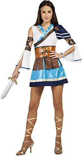 Car&Gus Disfraz de Guerrera Griega para Mujer