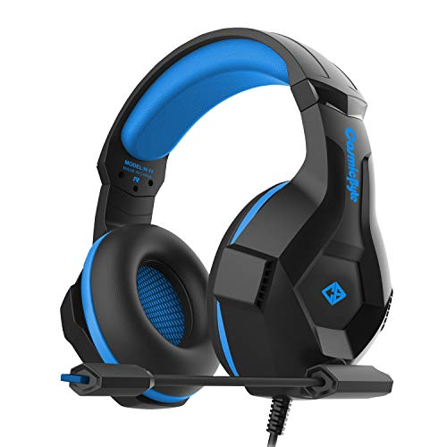 Cosmic Byte H11 Gaming Headset with Microphone (Black/Blue)