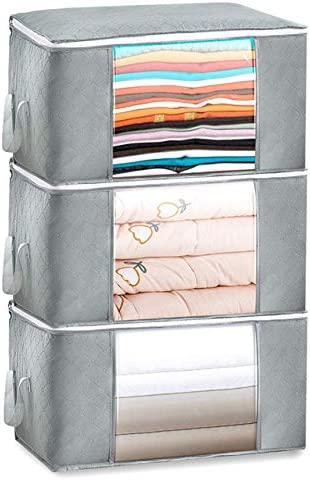 JUPAI Large Capacity Storage Bag Max 63% OFF depot Container Duvet Multized Comfor