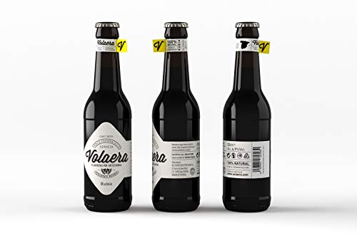 Rubia. Cerveza Artesana Volaera. Pack 12 botellines 33cl. PALE ALE.