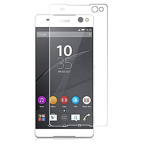 Spark Clear Tempered Glass for Sony Xperia C5 Feature Packed TOP Notch Quality Screen Guard