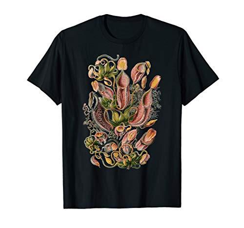 Vintage Carnivorous Plant Shirt Floral Flower T-Shirt