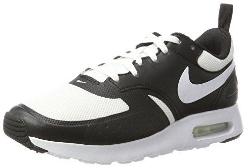 Nike Herren Air Max Vision Sneaker, Elfenbein (White / White / Black), 44 EU