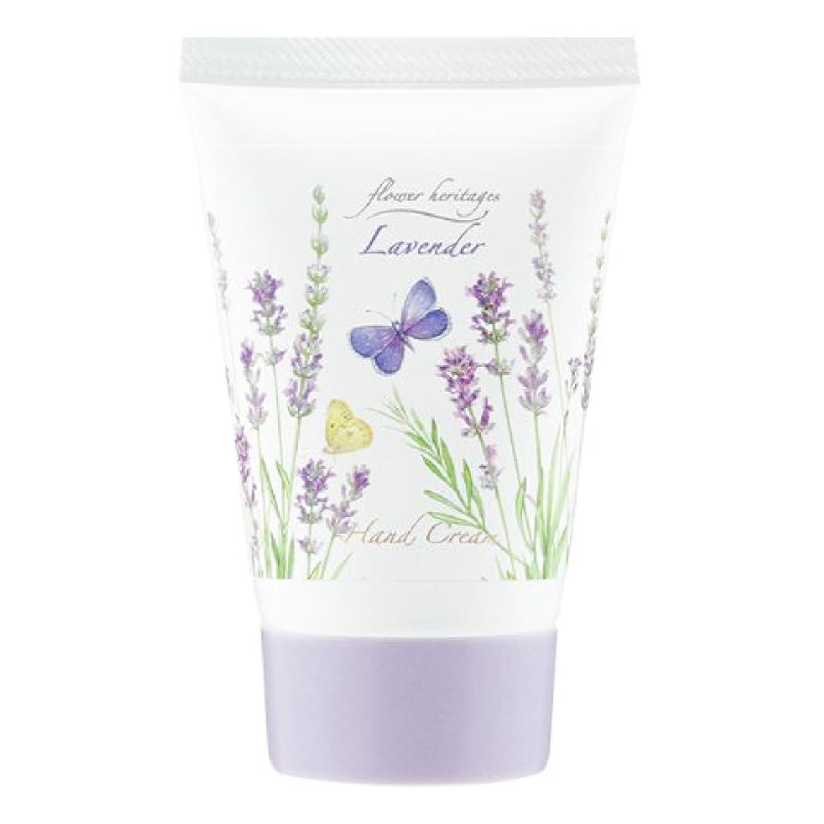 リル可能にする弾性ネイチャータッチ (Nature Touch) Flower Heritage ハンドクリーム40g/ラベンダー